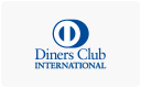 Diners Club card payments accepted